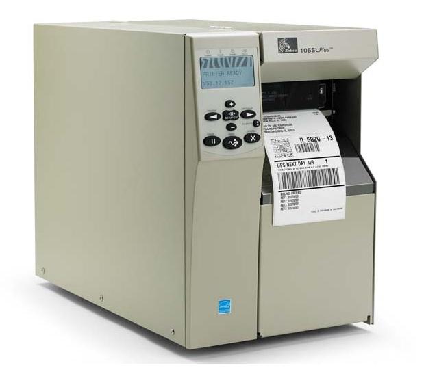 Zebra工商业条码打印机-105SL Plus