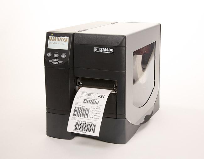Zebra工商业条码打印机-ZM400